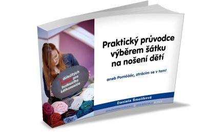 Jak vybrat šátek na nošení dětí, e-book zdarma