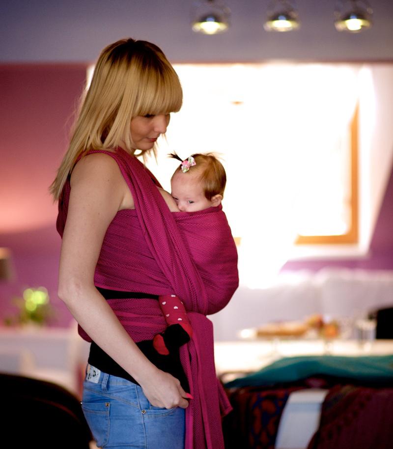 Nošení dětí od narození